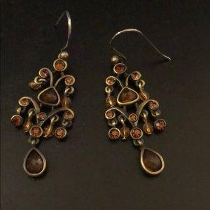 Jewelry - Brown fashion dangle earrings